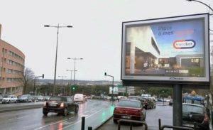 Campagne d'affichage pour un plan media branding