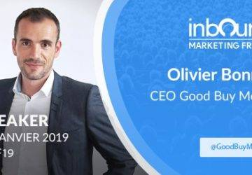 Inbound Marketing France 2019: Good Buy media partenaire et speaker