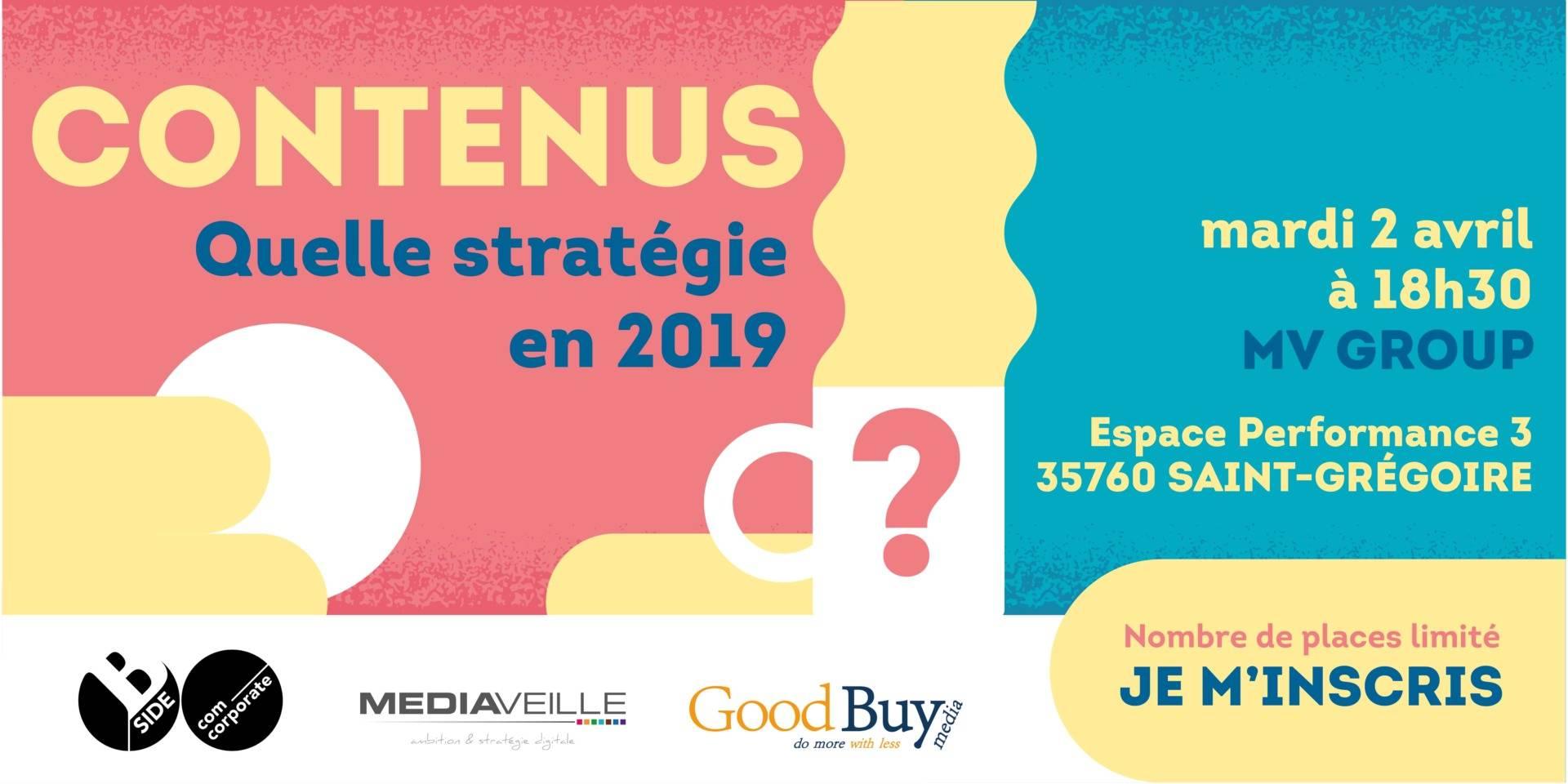 conférence contenus quelle stratégie en 2019