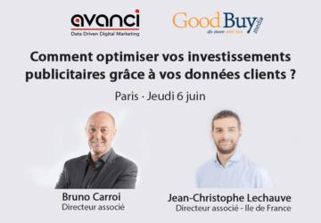 [Conférence] Comment optimiser vos investissements publicitaires grâce à vos données clients? Le 6 juin à Paris